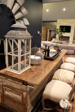 Reclaimed Seed Box Table